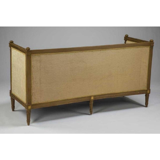 Empire Early 19th Century Vintage Empire Style Gilt Canape For Sale - Image 3 of 4
