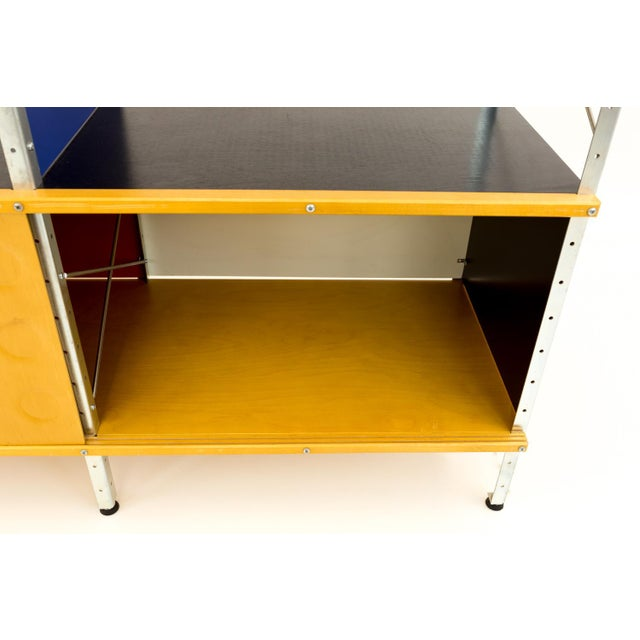 Blue Mid-Century Modern Charles and Ray Eames for Herman Miller Esu Storage Unit Shelves For Sale - Image 8 of 13