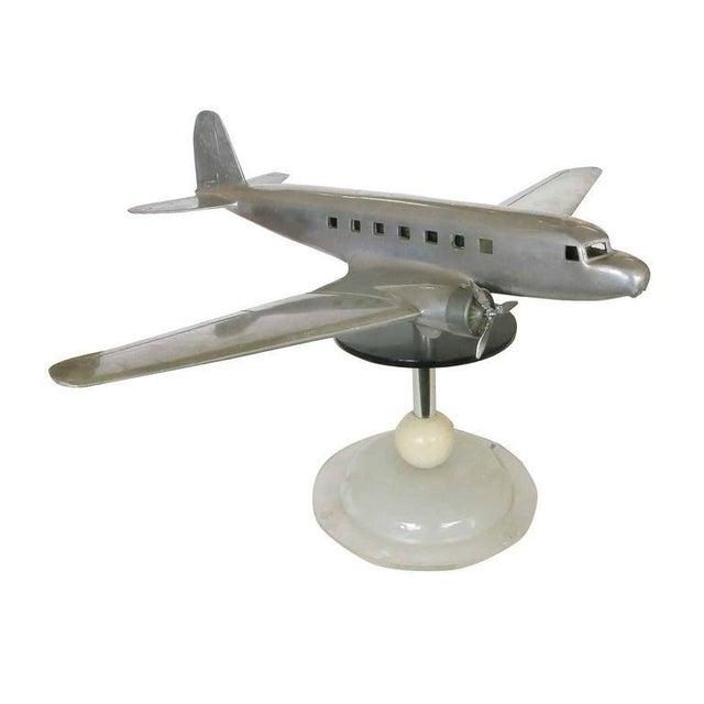 Douglas DC-2 Airplane Aluminum Model Lamp, circa 1934 - Image 7 of 10