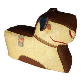 Art Deco Dog Footstool Hassock by Relaxon For Sale