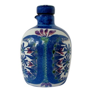 Vintage Marianne Johansen Faience Bottle For Sale