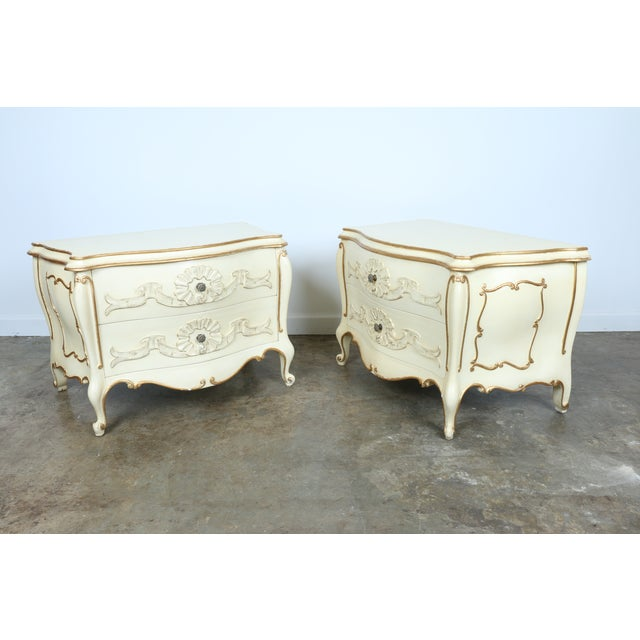 French Chest of Drawers - Pair - Image 7 of 11