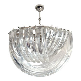 Murano Glass Loop 60 Ceiling Light For Sale
