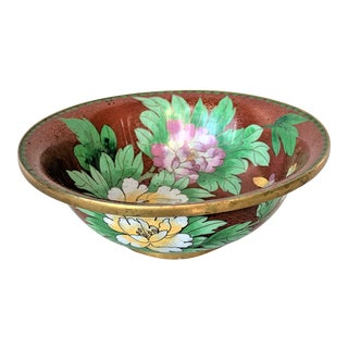 Vintage Cloisonne Bowl For Sale