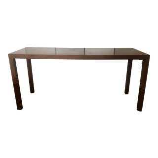Antique Wood Entry Way Table For Sale