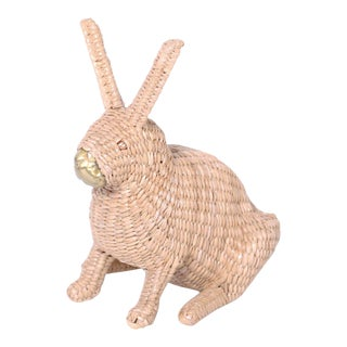 Mario Torres Wicker Bunny For Sale