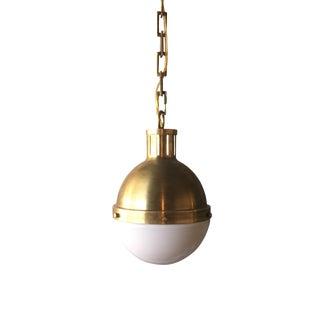 Visual Comfort Hicks Brass Pendant Light