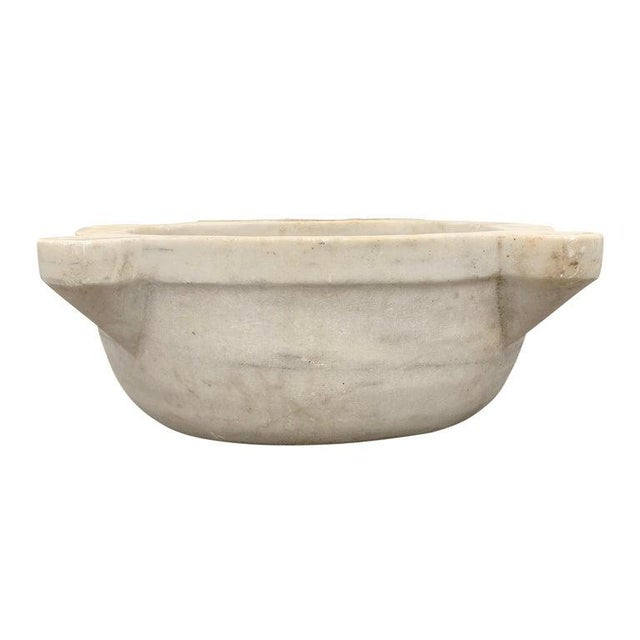 18th Century Turkish Hammam Marble Sink For Sale - Image 4 of 11