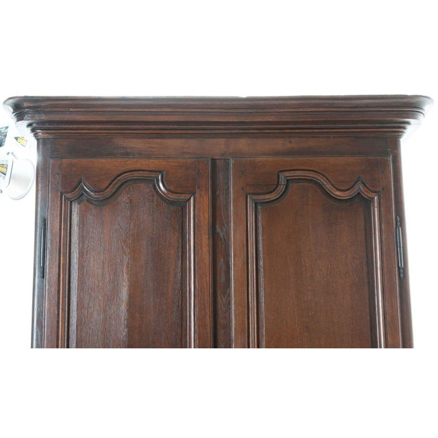 French 18th Century Oak Buffet A' Deux Corps For Sale In Baton Rouge - Image 6 of 10