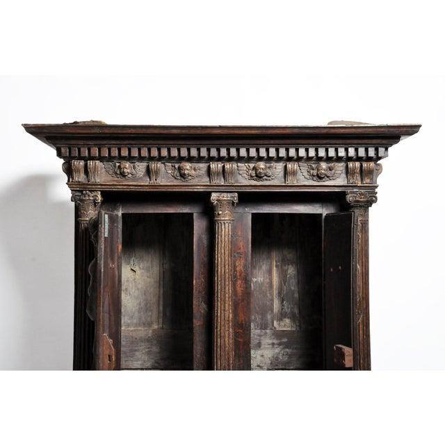 18th Century Impressive Renaissance Revival Armoire For Sale - Image 5 of 13