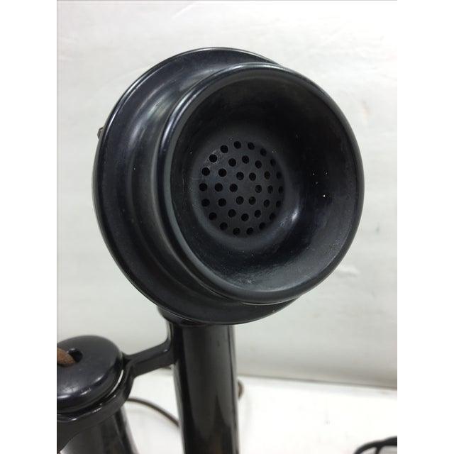 Western Electric Candlestick Rotary Dial Telephone - Image 6 of 11