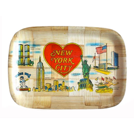 Vintage New York City Trays - Image 1 of 5