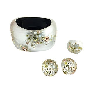Alexis Bittar Bracelet Ring & Earrings For Sale