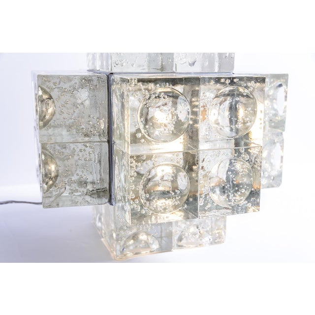 Murano Glass Italian Mid-Century Table Lamp by Albano Poli for Poliarte, 1960s For Sale In West Palm - Image 6 of 12