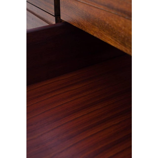Luciano Frigerio Chest of Drawers in Walnut For Sale - Image 11 of 12