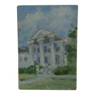 "Frederick McDuff ""3 Pillars"" Original Painting on Board"