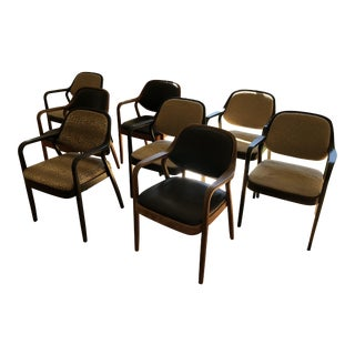Don Pettit for Knoll Dining Chairs - Set of 8 For Sale