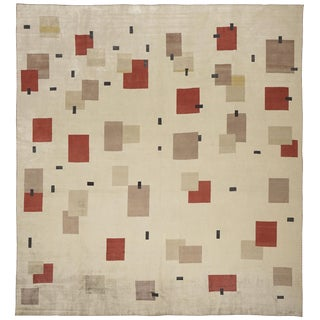 Boccara Hand Knotted Limited Edition Artistic Rug - Design N.11 (Silk) For Sale