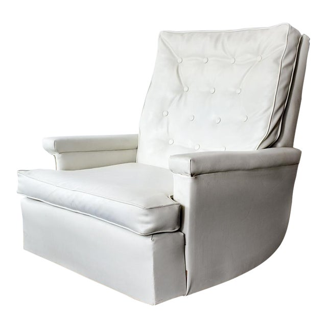 1970s Tufted Recliner Lounge Chair - Image 1 of 8