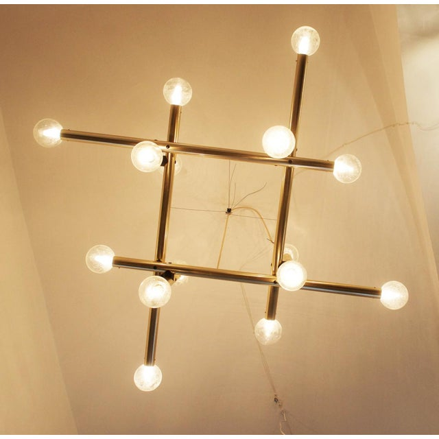Mid-Century Modern Large Austrian RS-System Lamp by JT Kalmar for Kalmar, 1970s For Sale - Image 3 of 11
