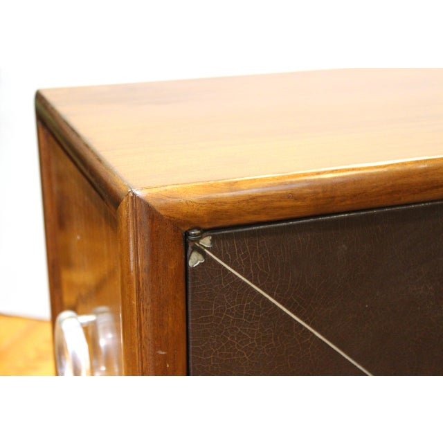 Art Deco Grosfeld House Art Deco Mahogany Low Cabinets or Nightstands - a Pair For Sale - Image 3 of 13