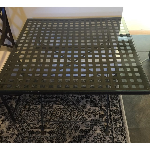 Antique Wrought Iron Table - Image 3 of 5