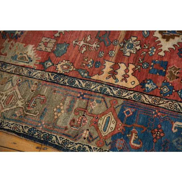 "Vintage Bijar Rug - 4'10"" X 7' For Sale - Image 11 of 13"