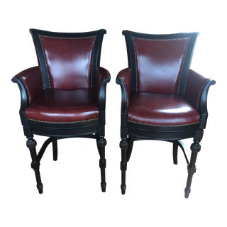 Frontgate Chesterfield Barstools - A Pair