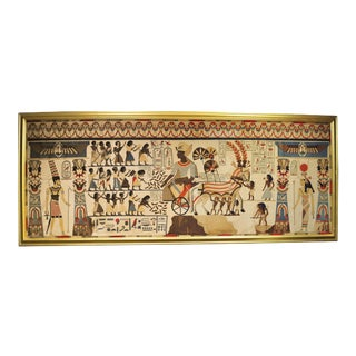French Egyptian Revival Tapestry For Sale