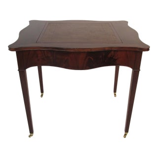 1940s Beacon Hill Collection Game Table For Sale