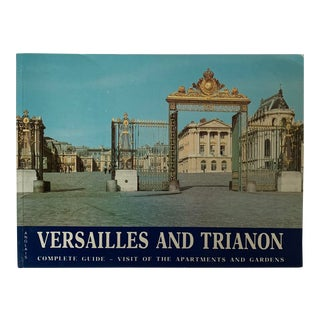 Versailles and Trianon Book For Sale