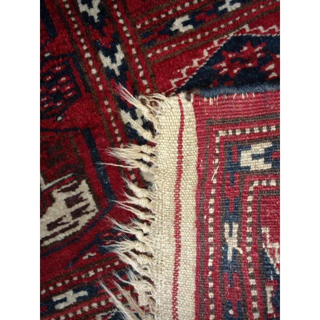Late 19th Century Antique North Indian Wool Area Rug - 3′6″ × 5′4″ For Sale - Image 5 of 8