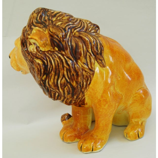 Mid-Century Italian Lion by Bellini - Image 8 of 9