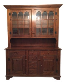 Image of Early American China and Display Cabinets