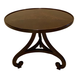 Spanish Style Lorts Round Side Table For Sale