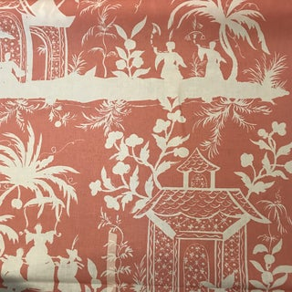 """Quadrille / China Seas """"Lyford"""" Fabric 4 Yards For Sale"""