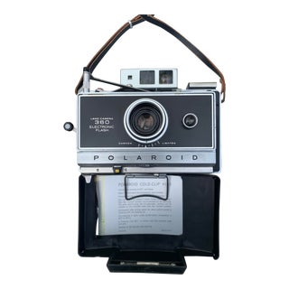 Polaroid 360 Land Camera Plus Flash For Sale