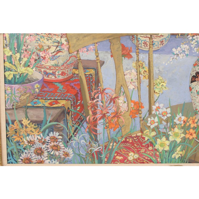 Chinoiserie Still Life by John Powell For Sale - Image 4 of 13
