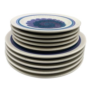 "Franciscan's ""Moondance"" Dinner and Salad Plates - Set of 10 For Sale"