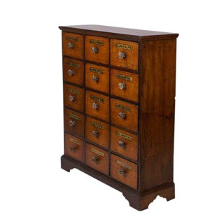 Antique Decorative Apothecary Chest
