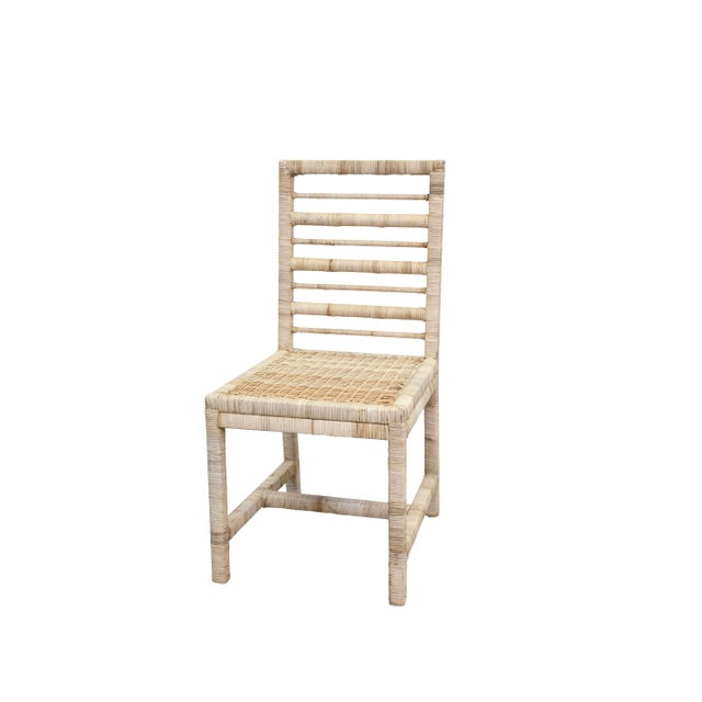Coastal Maritime Dining Chair, Natural For Sale - Image 3 of 3