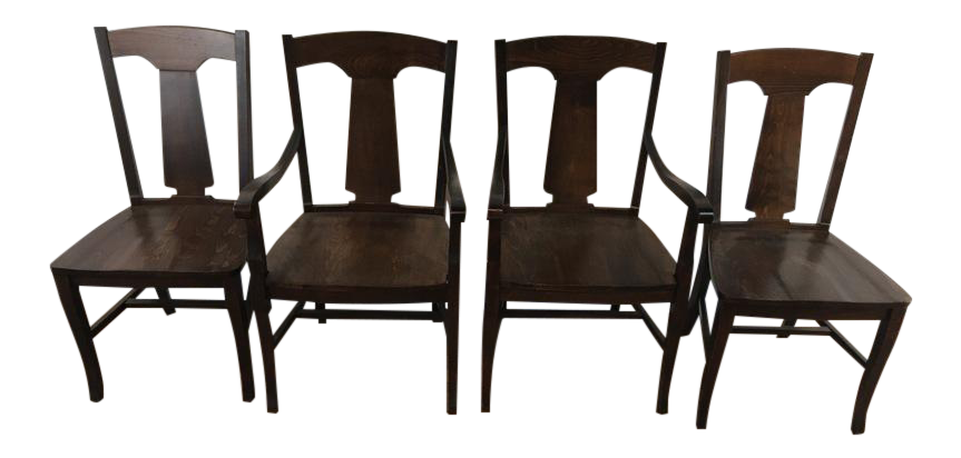Bon Pottery Barn Dining Chairs   Set Of 4