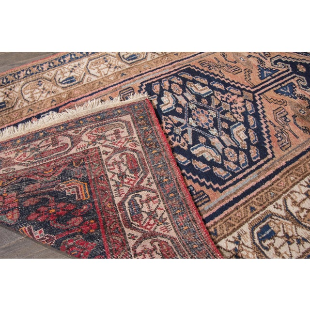 """Antique Hamadan Rug- 3'5"""" x 6' For Sale In New York - Image 6 of 7"""