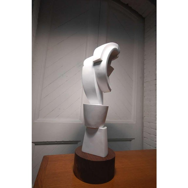 Late 20th Century Rare Prototype Peter Ambrose Sculpture Done for Judy Niedermaier For Sale - Image 5 of 10