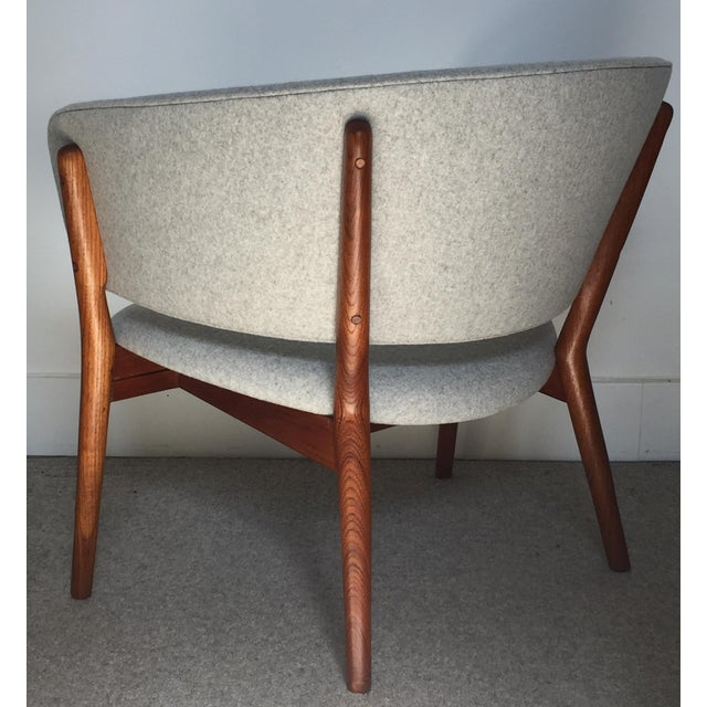1950s Vintage Nanna Ditzel Nd 83 Lounge Chair For Sale In San Francisco - Image 6 of 10