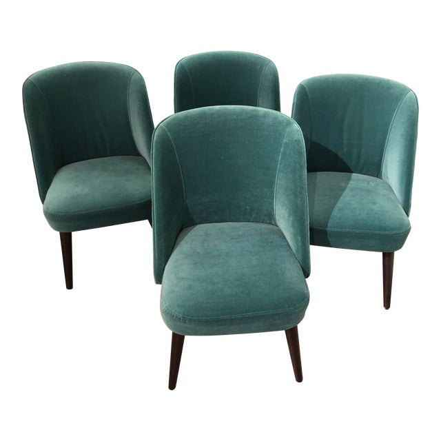 Room and Board Custom Dining Chairs - Set of 4 For Sale