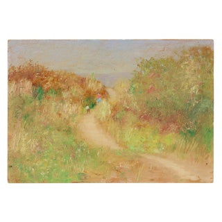 West Coast Impressionist Landscape, Oil Painting, Circa 1900-1930s For Sale