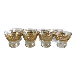 Mid Century Liquor Glasses - Set Of 8