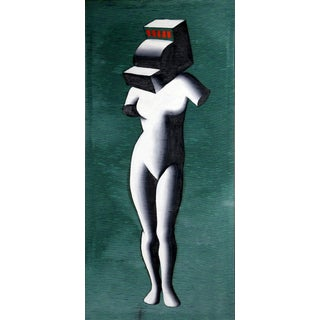 """Venus"" by Mark Kostabi Painting For Sale"