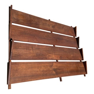 Poul Cadovius Cado-Style Mid Century Wall Unit 5 Feet Shelves For Sale